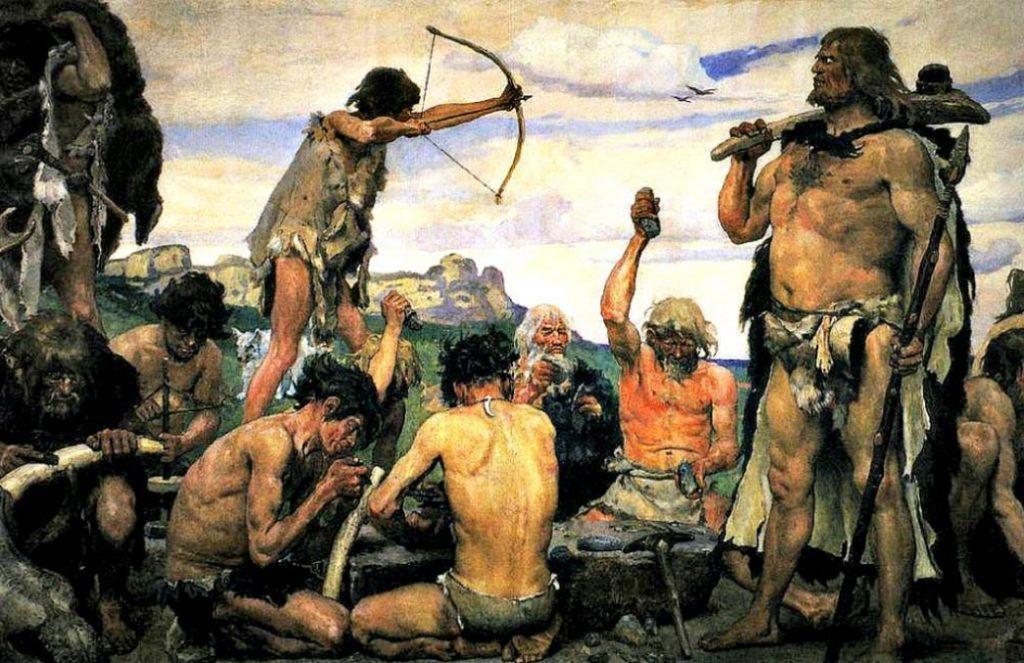 The Stone Age by Viktor M. Vasnetsov
