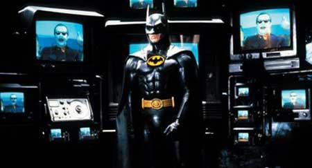 Batman with too many TVs