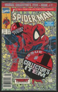 "As with all valuable comics, it is emblazoned with the words ""Collector's Item"""