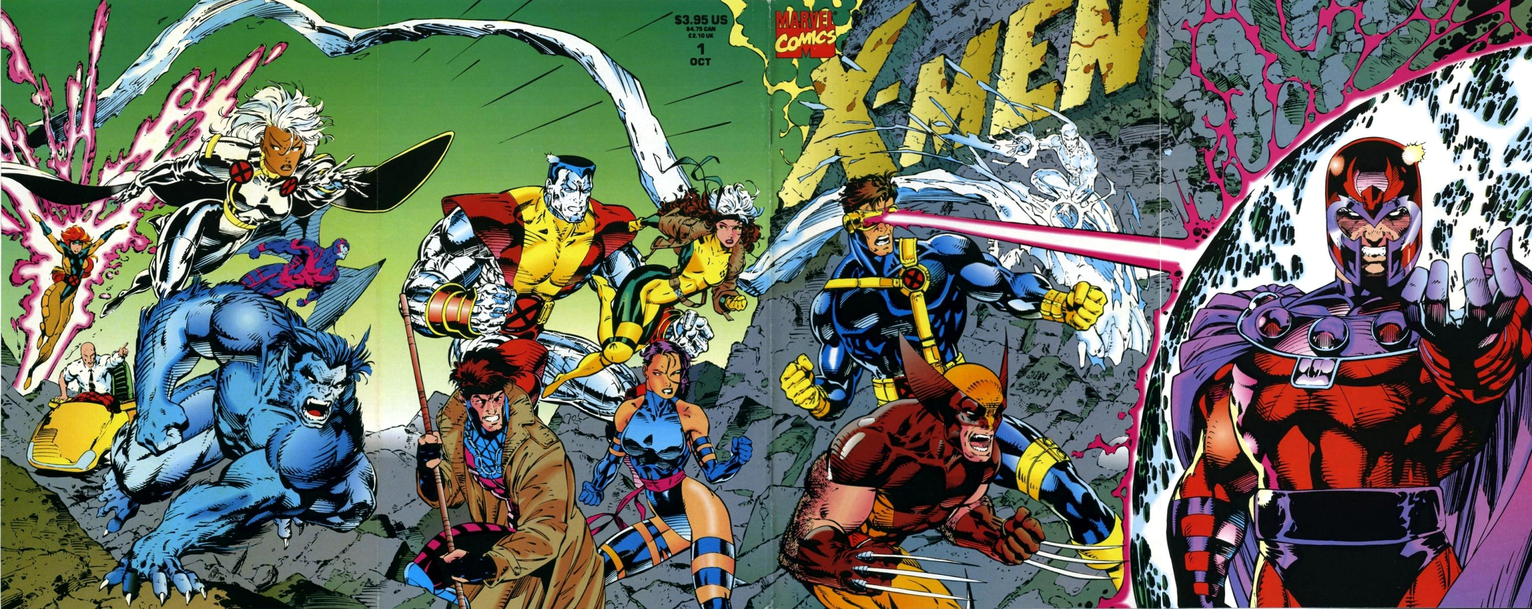 X-Men #1 via Marvel Comics