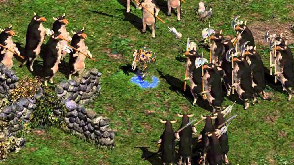 Diablo 2 Cow Level