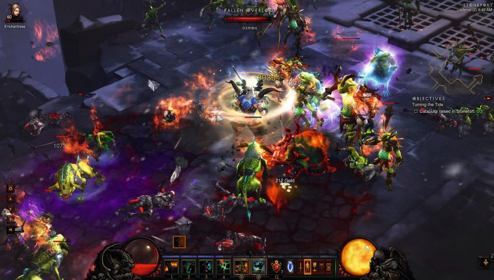 Diablo 3 Battle